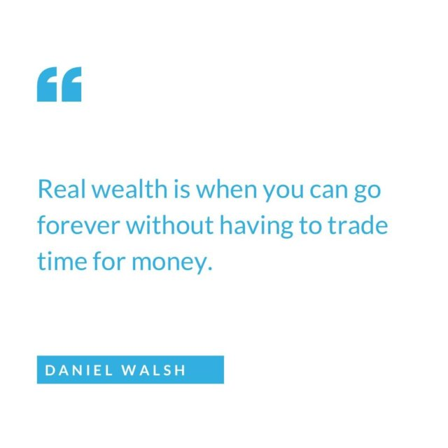 Real wealth isn't about the big house & cars.   Real wealth is waking up and doing whatever you want, whenever you want.   Who else is working towards real wealth? 🙋🏼‍♀️🙋🏼  #wealthmindset #investor #realestate