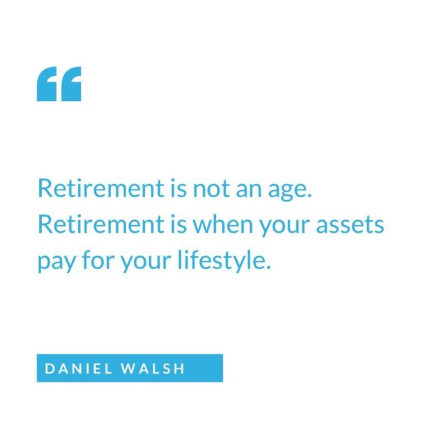 When do you plan to retire?   #assets #passiveincome #propertyportfolio #propertyinvestment #investor #financialfreedom