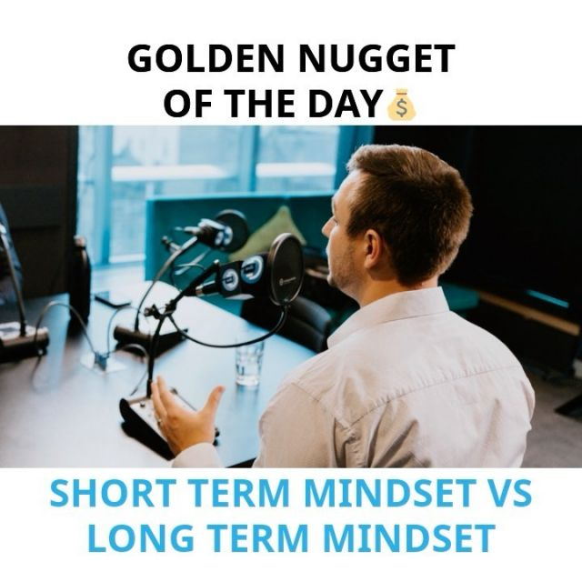 If you want wealth, it's all about thinking long term. Don't get caught up in having it all now, delay gratification and invest your money for the future.  #mindset #investor #propertyinvestment #wealth #financialfreedom #passiveincome
