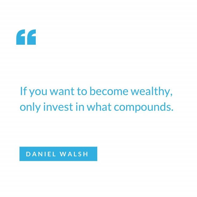 "Most great fortunes are built slowly. They are based on the principle of compound interest, what Albert Einstein called, ""The greatest power in the universe.""  #compoundinterest #wealth #investor #propertyinvestment #realestate #investing"