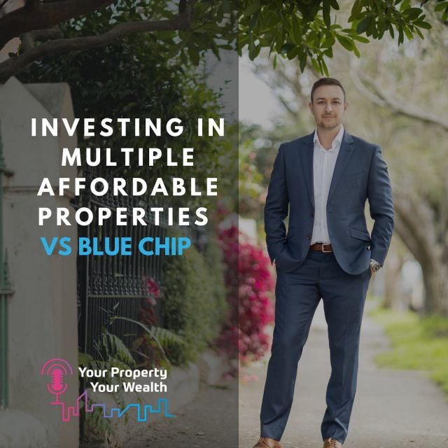 Investing in multiple affordable properties vs blue chip🎙  From a freight train driver to one of Australia's most successful property investors, with a $4.2 million property portfolio.  Daniel's investment and diversification strategy is certainly one to learn from.   Listen to this episode of the YPYW podcast to discover how to maximise investment profits through diversification all around Australia. Daniel proves the credibility of his strategy with a detailed case study, you'll learn why you shouldn't put all your eggs in one basket and how minimise risk through diversification.   Tune in on iTunes or your favourite podcast app! 🎧  #YPYWpodcast #investing #propertyinvestment #realestate #investor #wealth #propertymentor
