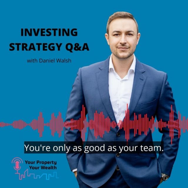Wealth building is a team sport ⚾️   The sooner you realise it requires a great team around you, then you can start to accelerate your wealth ↗️  #wealthcreation #YPYWpodcast #realestate #property #propertypodcast #propertymentor #financialfreedom