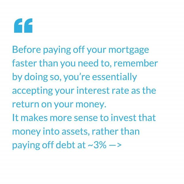 """Shorter mortgage terms, bigger deposits & additional payments towards principal unnecessarily will slow down your wealth creation.  Untapped equity in a property is known as """"lazy equity"""" - which isn't being utilised to buy appreciating assets.  You definitely want to maintain a healthy equity position throughout your portfolio & shouldn't over leverage for the sake of doing so, however be mindful of accumulating too much equity in a property - it's likely bigger used elsewhere.  #lazyequity #realestate #propertyinvestment #ypyw"""